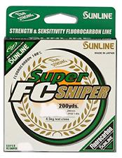 Sunline Super FC Sniper 10 lb Green Line (200 yd)