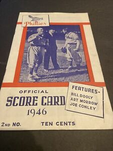 1946 BROOKLYN DODGERS VS PHILLIES SHIBE PARK~REESE~MEDWICK~DUROCHER~FURILLO ROOK