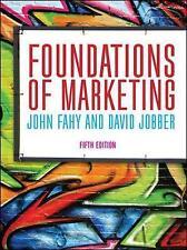 Foundations of Marketing by John Fahy, David Jobber (Paperback, 2015)