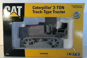 1993 Caterpillar 2-Ton Track-Type Tractor ERTL 1:16 Scale Die Cast Model.