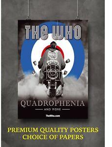 Quadrophenia The Who Art Large Poster Art Print Gift A0 A1 A2 A3 A4 Maxi