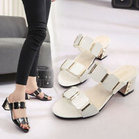 Women Fish Mouth Slipper High Heels Sandals Antiskid Toes Party Shoes Flip Flops