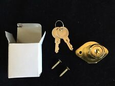 Ultra Hardware Cabinet & Drawer Lock #44821 Brass Model 189KD