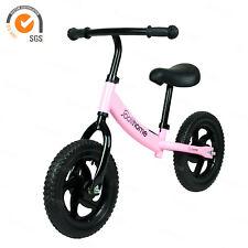 Kid Balance Bike for 2,3,4,5,6 Year Old Toddler Bike Pink Walking Training Bike