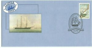 1984 Australia ※ Clipper Ships ⁜ 85¢ Thermopylae 'Stamp & Pmk' ~ First Day Cover