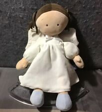 Little Princess North American Bear Co Plush Doll Brunette Pigtails Angel Wings