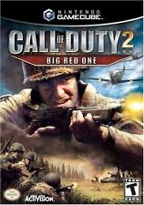 Call Of Duty 2 Big Red One Gamecube Great Condition Fast Shipping