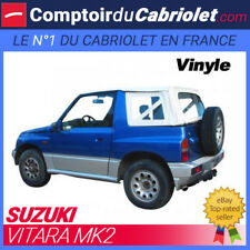 Capote blanche 4x4 Suzuki Vitara MK2 cabriolet en Vinyle GV blanc