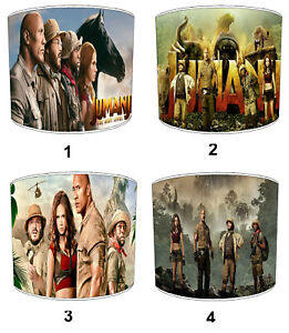 Jumanji Film Lampshades Ideal To Match Bedding Duvets Curtains Cushion Covers