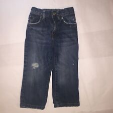 Childrens Place EST 1989 Toddler Boys Jeans Size 3T Adjustable Waist Distressed