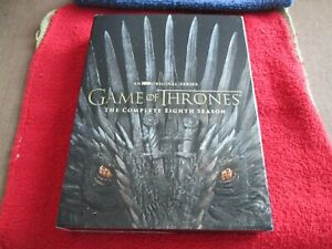 Game of Thrones: The Complete Eighth Season Set (DVD, 2019)