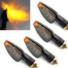 4x Amber LED Turn Signal Indicator Light Universal Motorcycle Honda Yamaha KTM