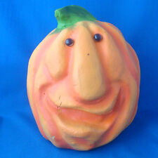 "9"" Empire Pumpkin Patch People ugly face jack o lantern 1998 polyurethane foam"