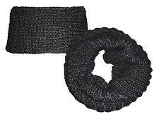 Écharpe Tube Foulard Tube Écharpe Écharpe Transversal Tube Noir