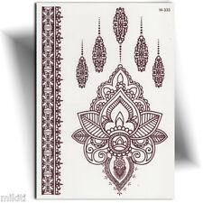 ►TATOUAGE TEMPORAIRE HENNÉ MAIN (Faux tattoo femme, henna tattoo, mehndi )◄