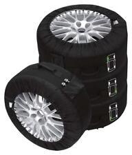 Petex Rädertaschen Reifentaschen Premium 4-teilig Set schwarz 14-18 Zoll