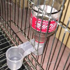 Bird Drinker Food Feeder Waterer for Budgie Aviary Finch Plastic Environmental