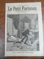 LE PETIT PARISIEN 1898 Pierre RODOT Assassin de femmes WOMEN KILLER (470)