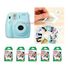 Fujifilm Fuji Instax Mini 8 Instant Polaroid Camera Blue + 50 Film Photo shot