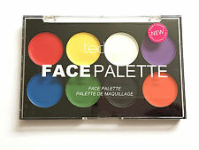 Technic Face Paint Palette - Cream Body Colours Create Kids Adults Bright Dress