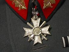 German Knight's Cross Medal in SIlver with Ribbon