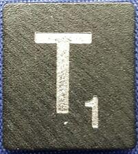 Single Scrabble Diamond Anniversary Wood Letter T Tile Replacement Game Part