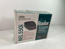 Bel Tronics Bel 550i Radar Laser New Old Stock