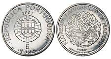 PORTOGALLO 5 Euro 2007 (Unesco) Floresta Laurissilva da Madeira