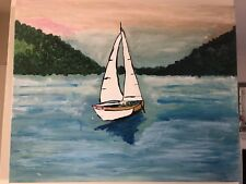 "24 X 30"" Original Painting - Acrylic on Canvas - ""Serenity"""