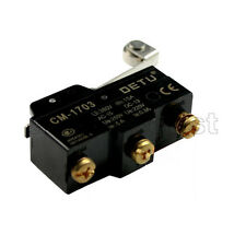 Micro Limit Switch Momentary Long Roller Lever CM-1703 1703 NO-COM-NC 380V 15A