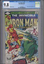 Iron Man #159 CGC 9.8 1982 Marvel Comic Diablo & Fantastic Four App NEW Frame