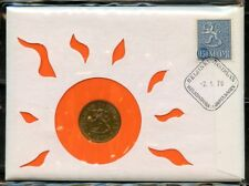 FINLAND 20 PENNIA  COIN  CERTIFIED FIRST DAY OF ISSUE COVER HELSINKI  2.1.70
