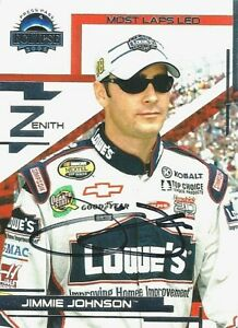 JIMMIE JOHNSON  -  Autographed [c3]  2005 Press Pass Eclipse  Card #50