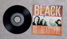"VINYLE 45T 7"" SP PROMO / TOP MODEL ""BLACK IS BEAUTIFUL"" 1991 ROCK 868 468-7"