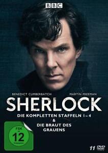 Sherlock - Die kompletten Staffeln 1-4 & Die Braut des Grauens  [11 DVDs]