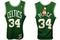 Paul Pierce #34 Boston Celtics Mens S-M-L-XL-2XL 07-08 Mitchell Ness Jersey $130