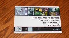 MMMR Loren Mazzacane Conners Postcard Promo 5.5x3.5 RARE