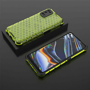 For OPPO Realme 7 / 7 Pro Shockproof Airbag Clear Honeycomb Rugged Case Cover