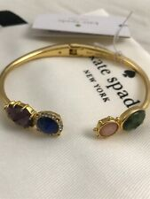 New Kate Spade perfectly imperfect open hinged cuff Bracelet Gold Beautiful Gift