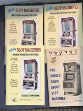 4 Bally Slot Machine Manuals -Marshall Fey