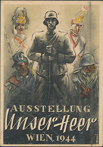 1944 Steyr Germany postcard Cover Feldpost to Flossberg Army Wehrmacht May 1944