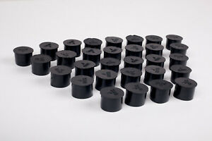 Pool Fence Hole Cover Deck Patio Ground Caps Black