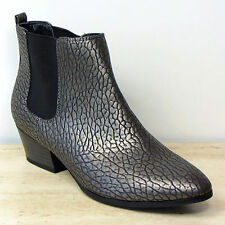 Marks and Spencer Mid Heel (1.5-3 in.) Cuban Boots for Women