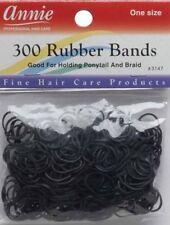 Annie Rubber Bands. Black 300pcs