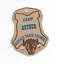 BOY SCOUT  CAMP ARTHUR  LEATHER  PP         BUFFALO TRACE COUNCIL   IND