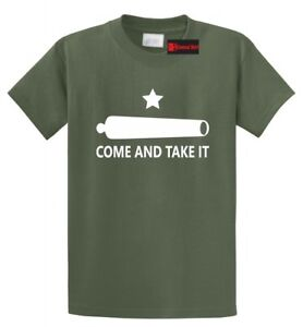 Gonzales Flag Come and Take It T Shirt Texas Military History Texan Pride Tee