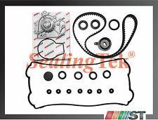 Fit 1996-01 B18B1 B20B4 B20Z2 Engine Timing Belt Water Pump Kit w/ Gasket Seals