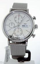 IWC Portofino Chronograph Silver on Bracelet 3910-09 IW391009