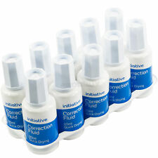 50 x 20ml Bottles of Quick Drying Correction Fluid White Eraser Brush Ink Pen