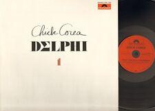 CHICK COREA DELPHI 1 1979 LP & PRESS Information Solo Piano Improvisations
